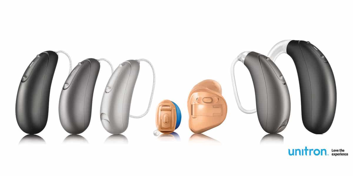 Unitron hearing aid family