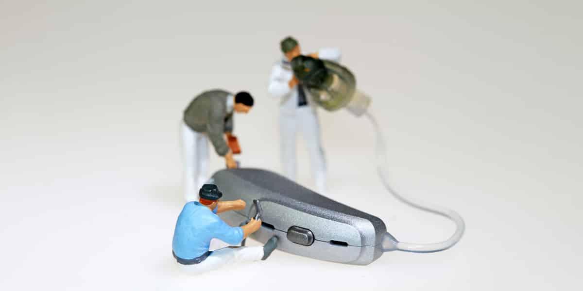 Hearing aid repairs